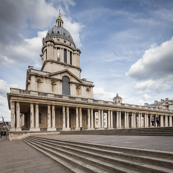 Old Royal Naval College, Greenwich by Christopher Wren