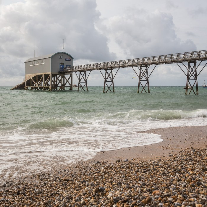 RNLI Selsey Lifeboat Station, Sussex.