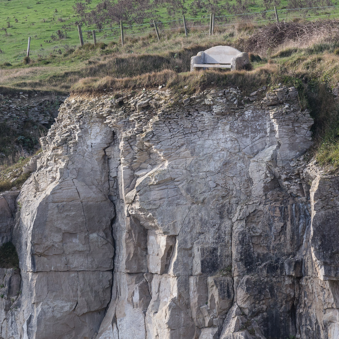 Seat, Winspit Quarry, Dorset.