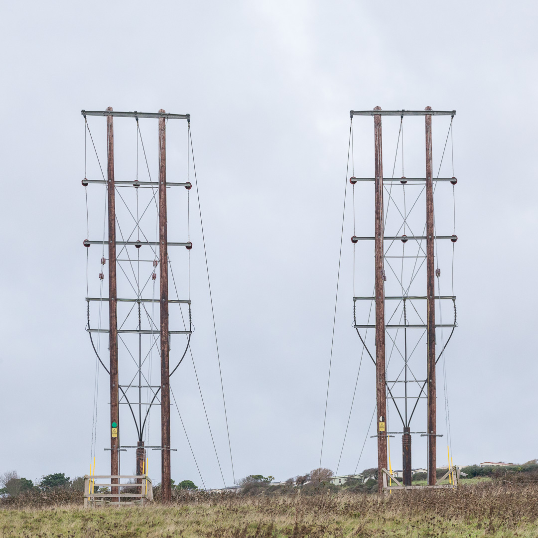 Power Lines, Wyke Regis, Dorset.