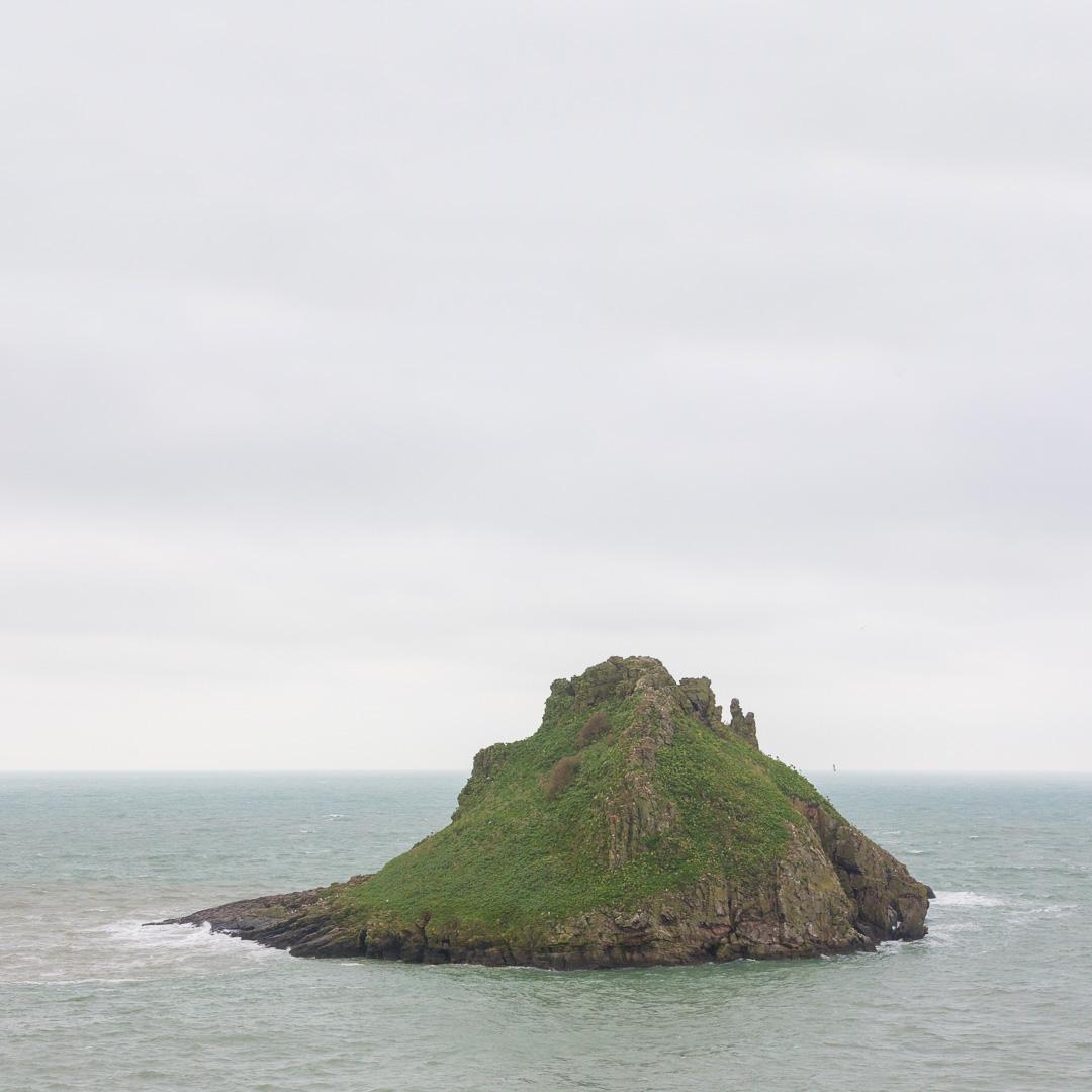 Thatcher Rock, Devon.
