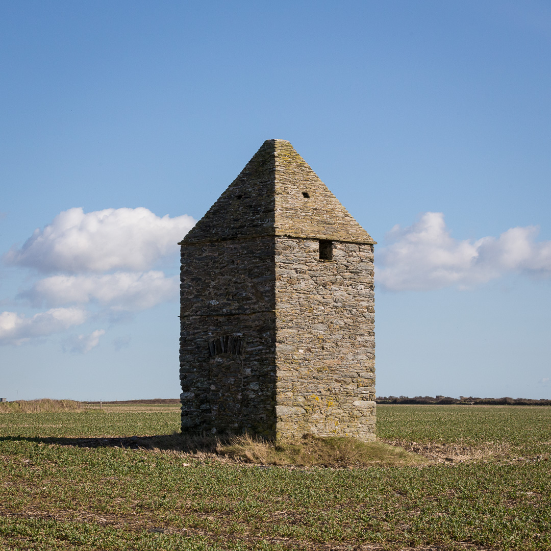 Former Admiralty flag signalling station, Soar, Devon. About 300 years old, it is a rare survivor of a chain of signal stations built to look out for a French invasion fleet and to pass a rapid alert the British naval bases at Portsmouth, Chatham and Plymouth.