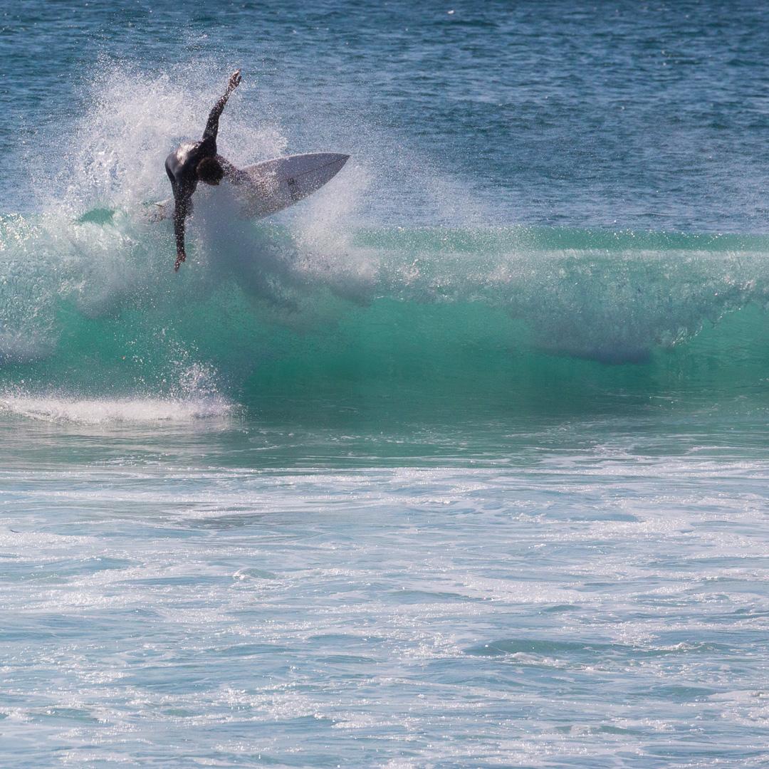 Surfer, Whitesand Bay, Cornwall.