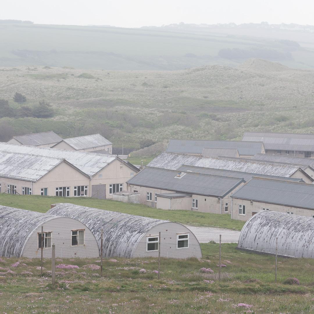 Penhale camp, Cornwall.