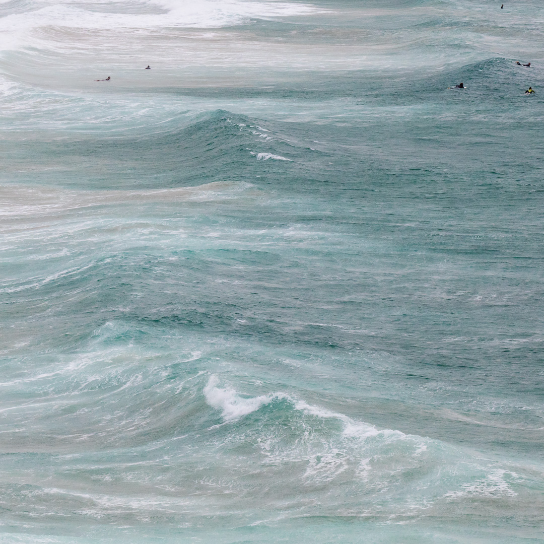 Surfers I, Fistral Beach, Newquay, Cornwall.