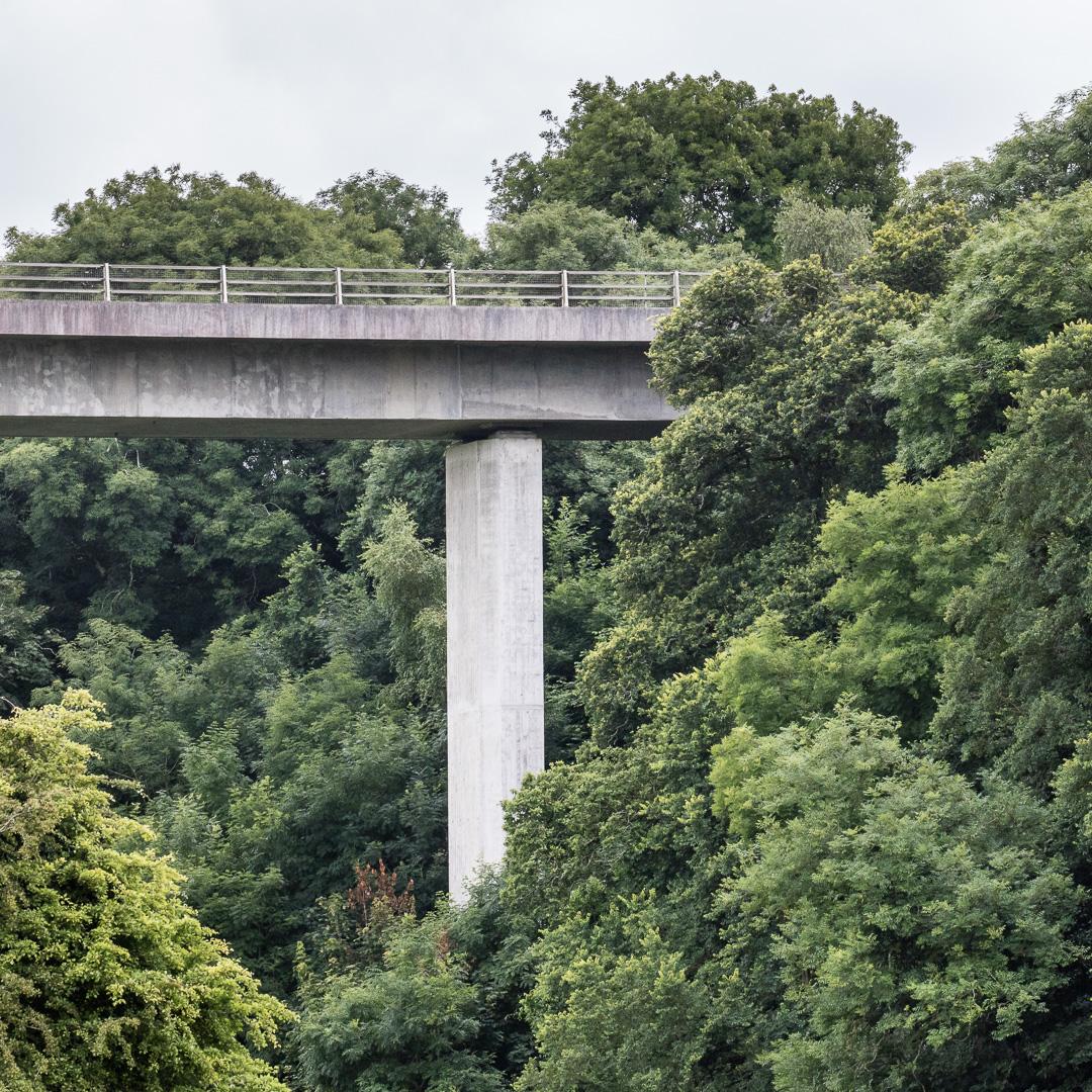 A39 Viaduct, Wadebridge, Cornwall.