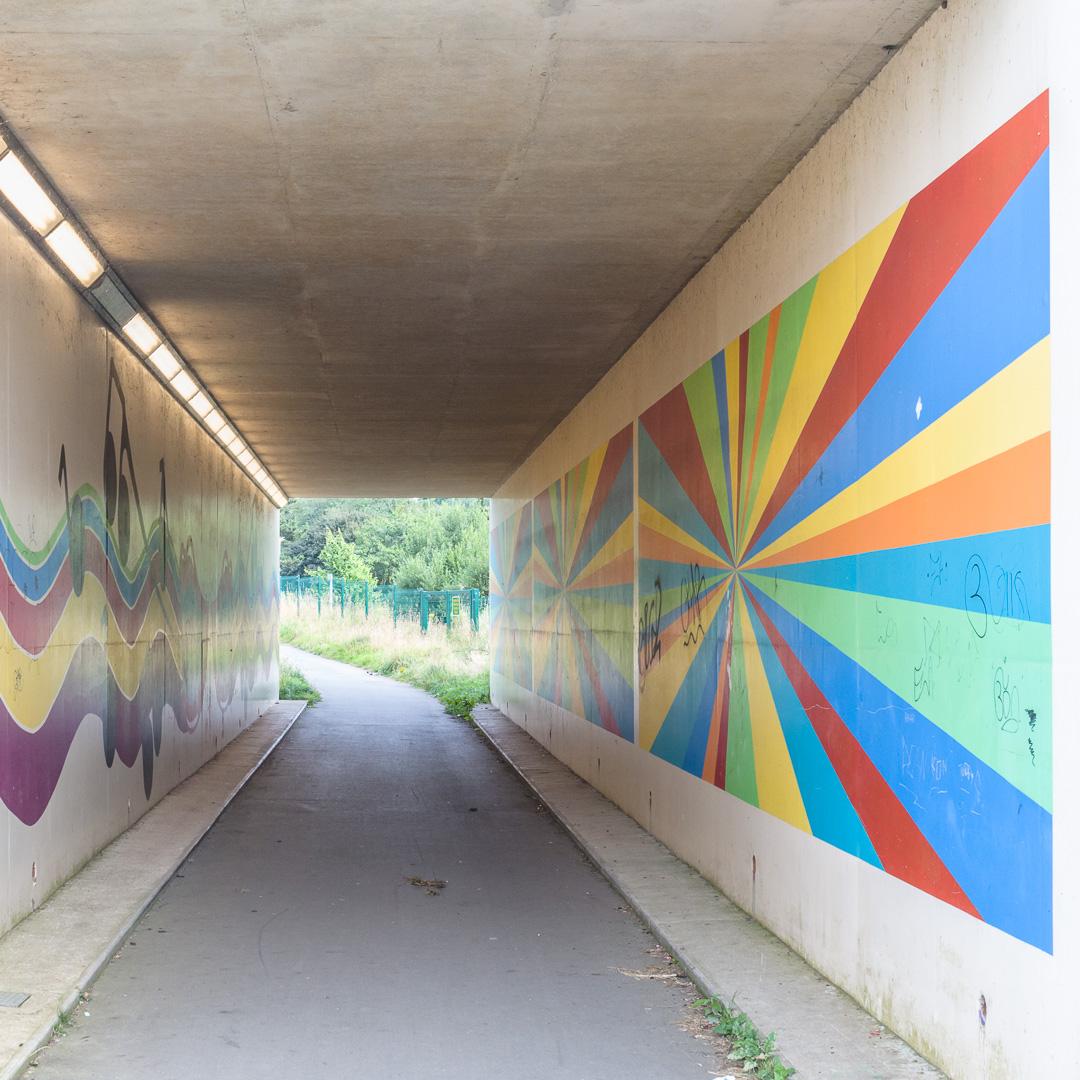 Underpass, Barnstaple, Devon.