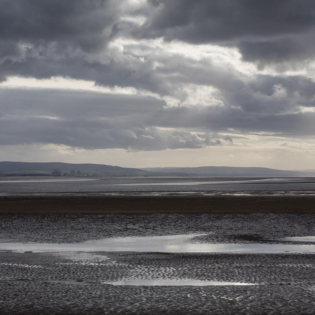 Low tide, Berrow Flats, Somerset.