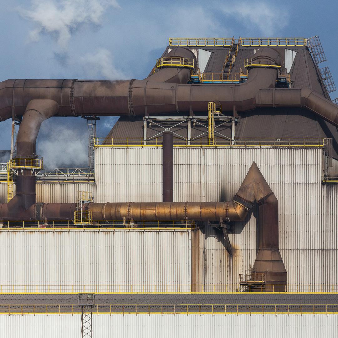 Melt-shop III, Celsa Steel, Tremorfa, Cardiff, Gwent.