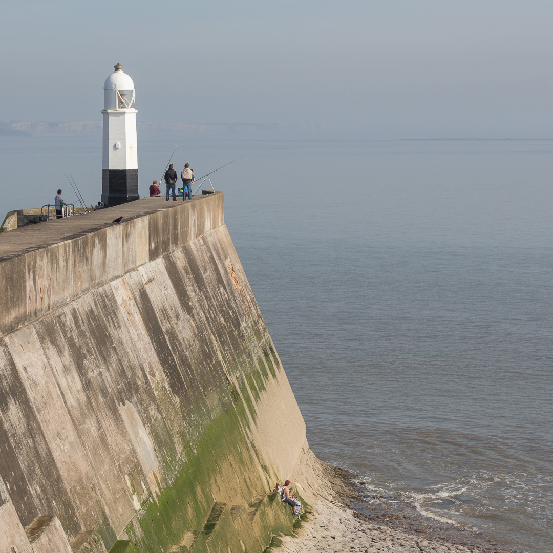 Porthcawl Lighthouse, Glamorgan.