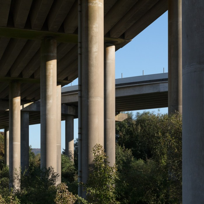 M4. Neath viaduct II, Glamorgan.