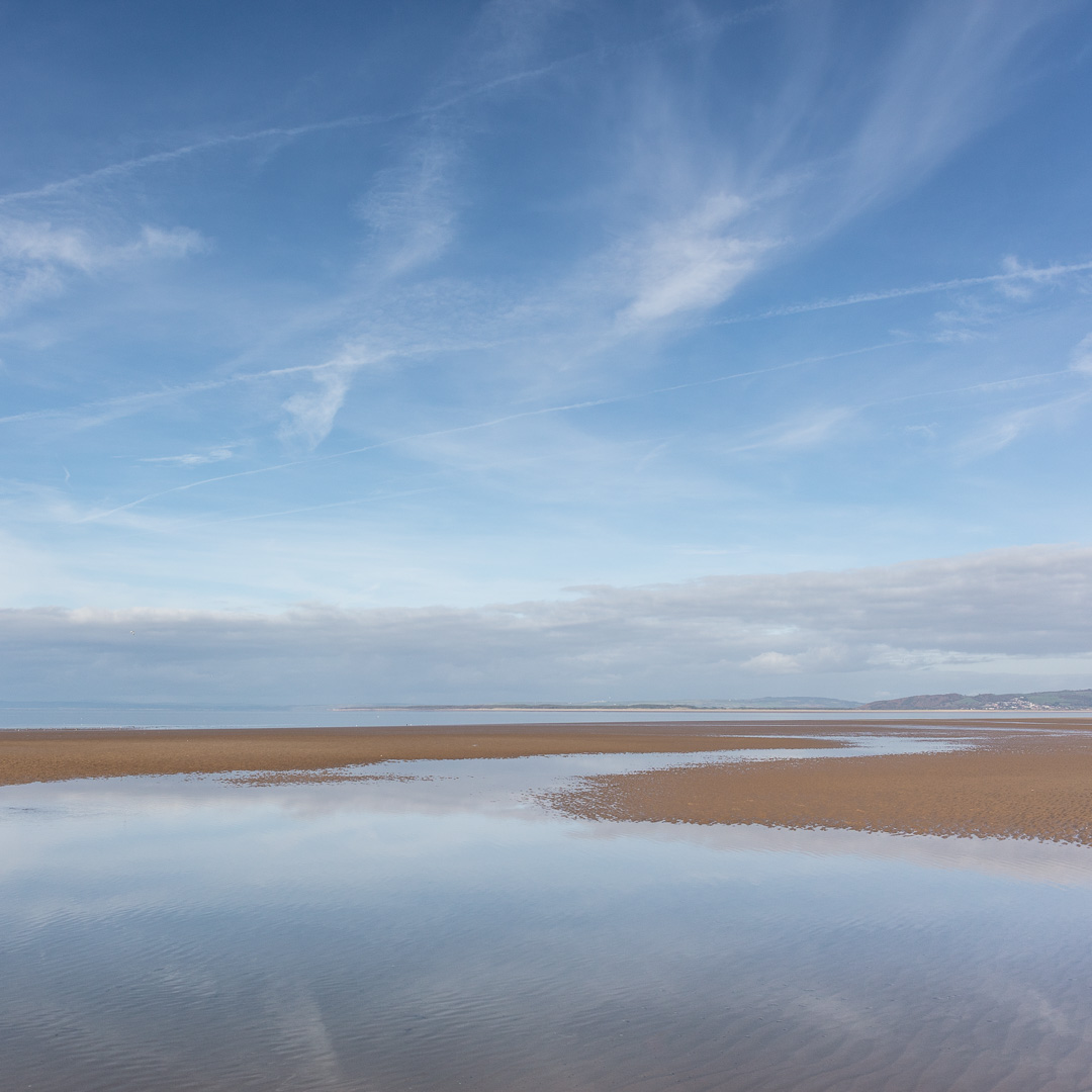 Broughton Bay sky, Gower, Glamorgan.