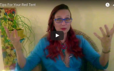 6 Tips For Your Red Tent