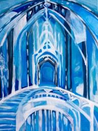 frozen painting