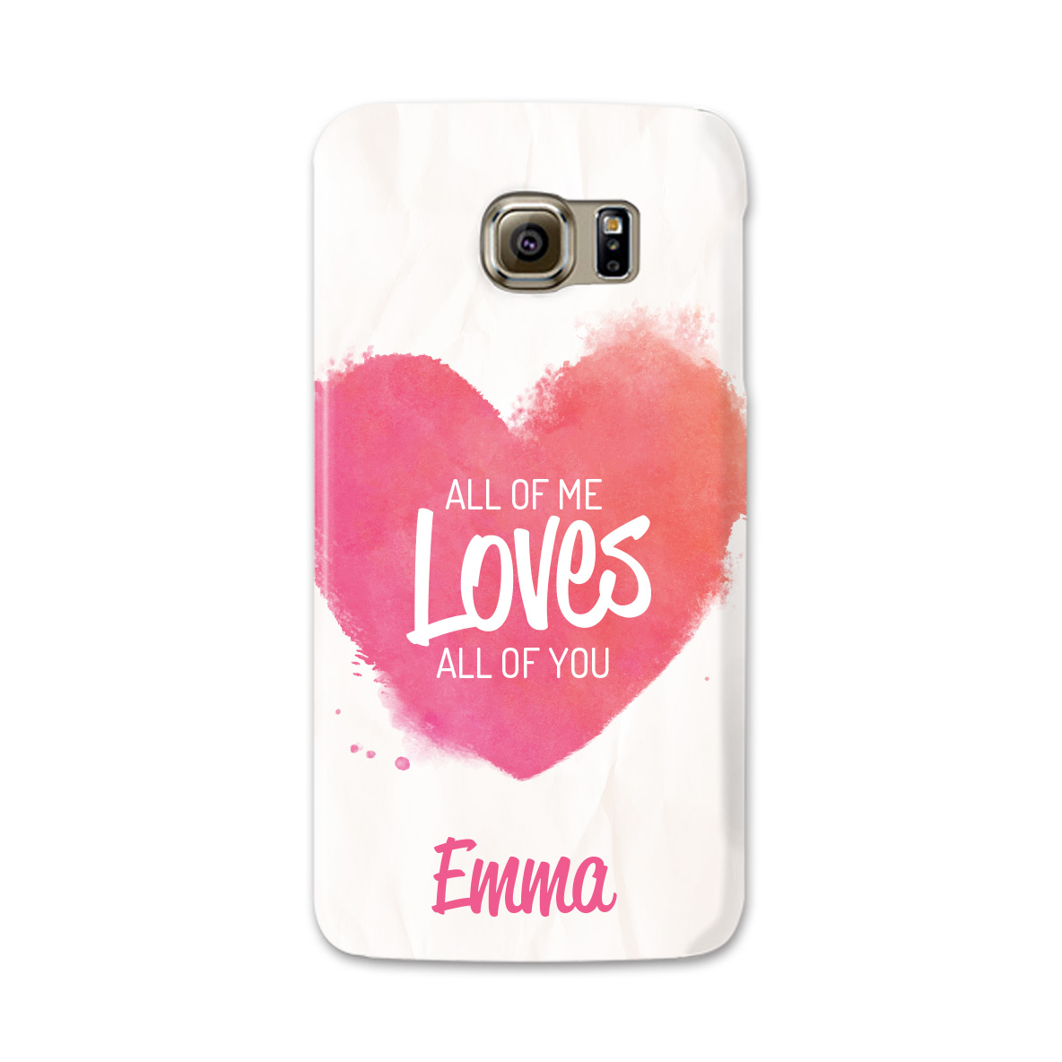 personalized phone case with text and name
