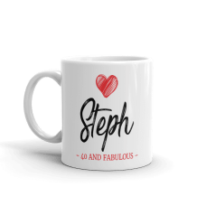 personalized with name and text