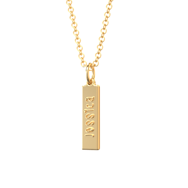 personalized charm with name