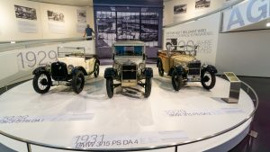 Three Classics at the BMW Museum