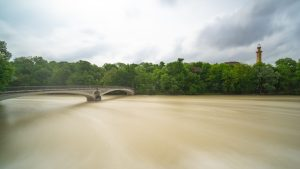 Long Exposure of the River Isar