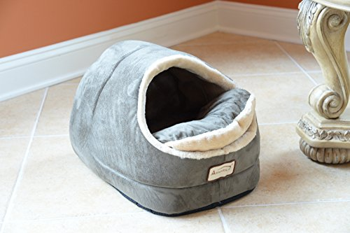 Armarkat Sage Green Cat Bed Size 18 Inch By 14 Inch The