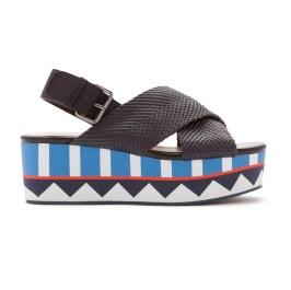 Bimba y Lola 'Nylon Platform Sandals'