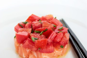 Salmon Tomato easy quick healthy summer recipe