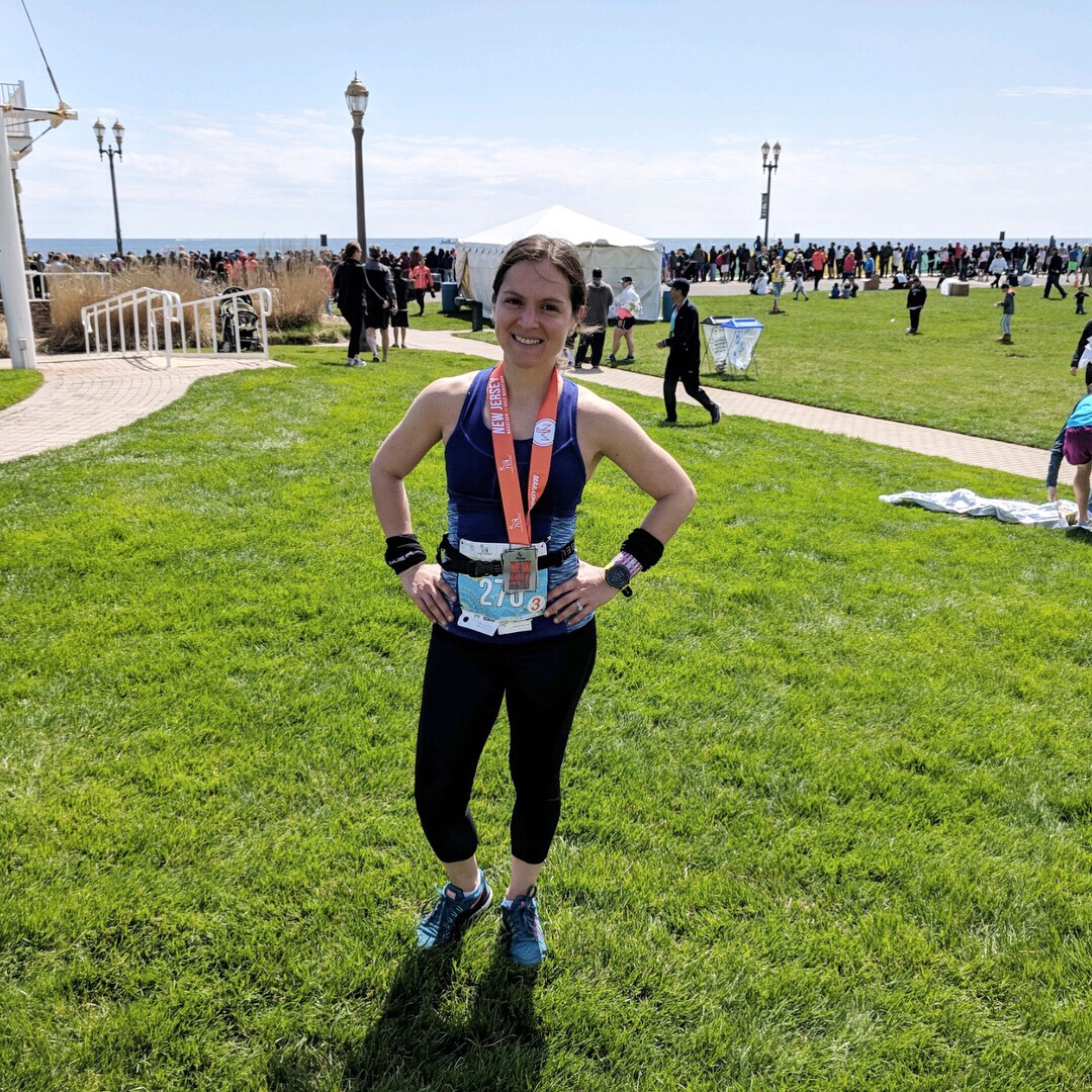 After finishing my 4th marathon, the N.J. Marathon
