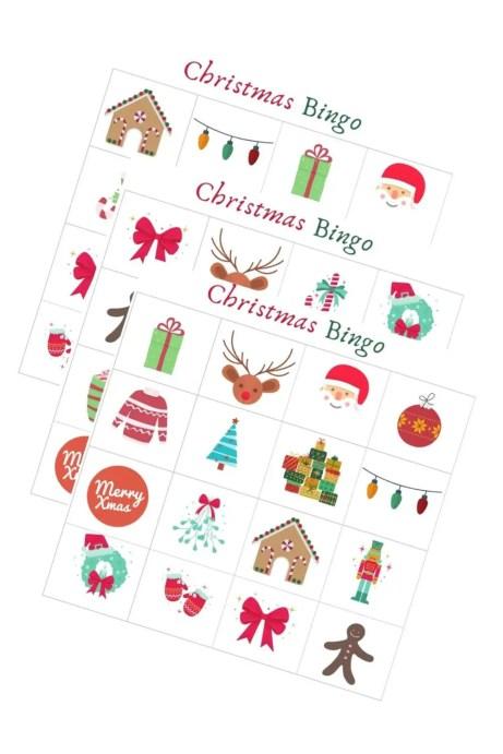 FREE Christmas Bingo Printable