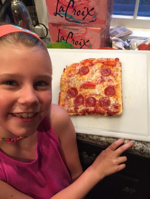 Make your own pizza night!