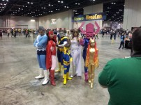 They even had a female Galactus.