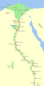 Nomes of Upper Egypt