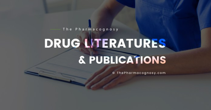 Drug Literatures and Publications