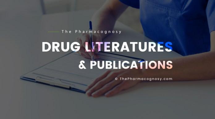 Drug Literatures and Publications