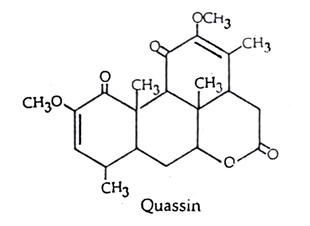 Quassia Chemical Constituents