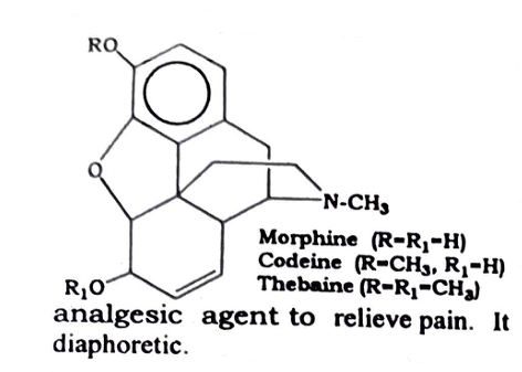 Opium Chemical constituents