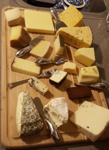 """My boyfriend and I always eat what Jenkins would call a """"cheese board."""" How unrefined we are!"""