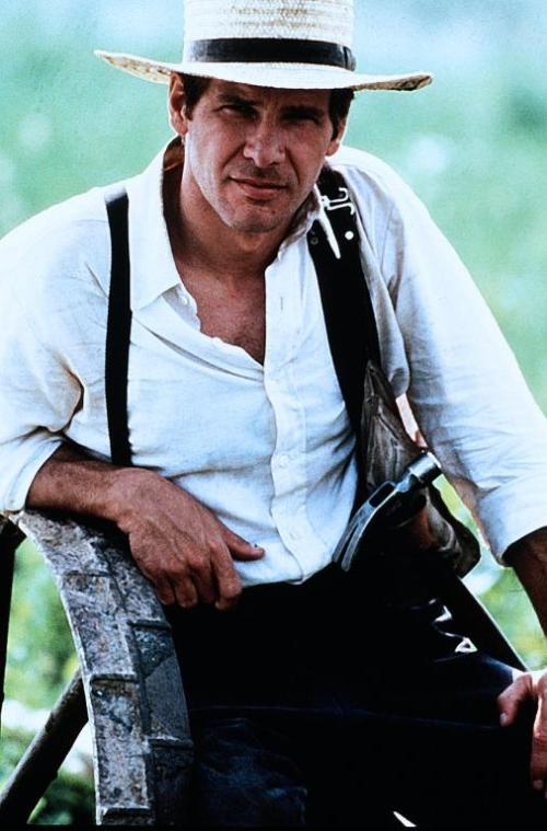 Harrison Ford in the movie Witness