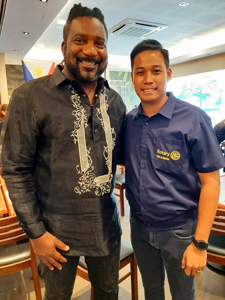 Philippines Magazine-Rotary Club Malolos Welcomes First Black American Member Kareem Jackson Press