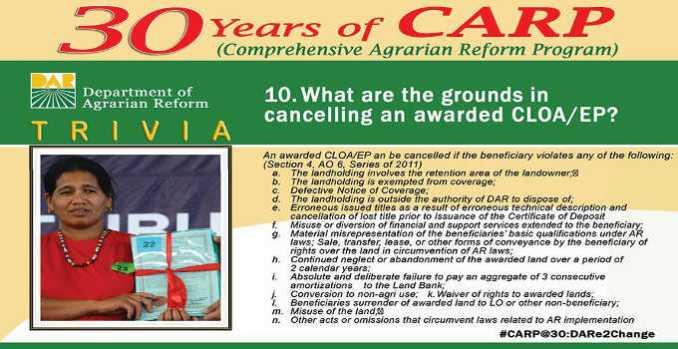 cloa cancellation