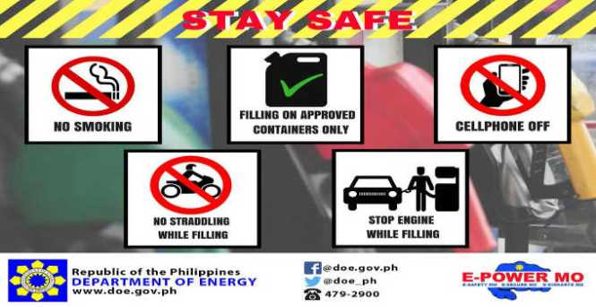gas station safety tips