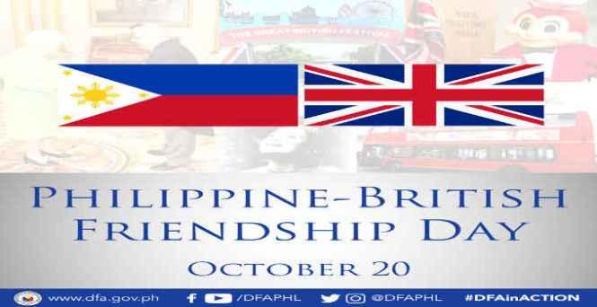 philippine and british friendship day
