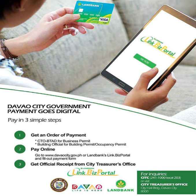davao city government payment goes digital