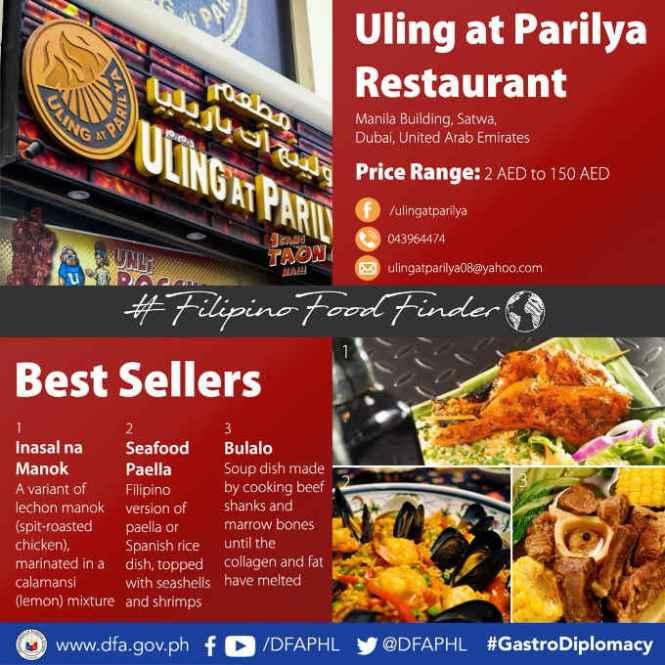 uling at parilya restaurant