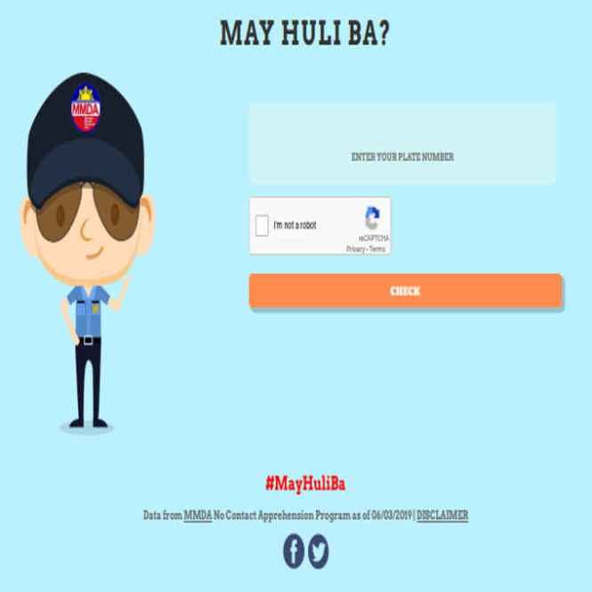 how to check online traffic violation in the philippines