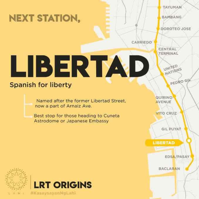 libertad lrt station map