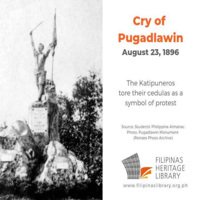cry of pugad lawin august 23 1896