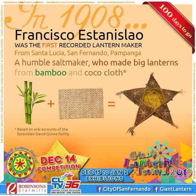 francisco estanislao first recorded lantern maker