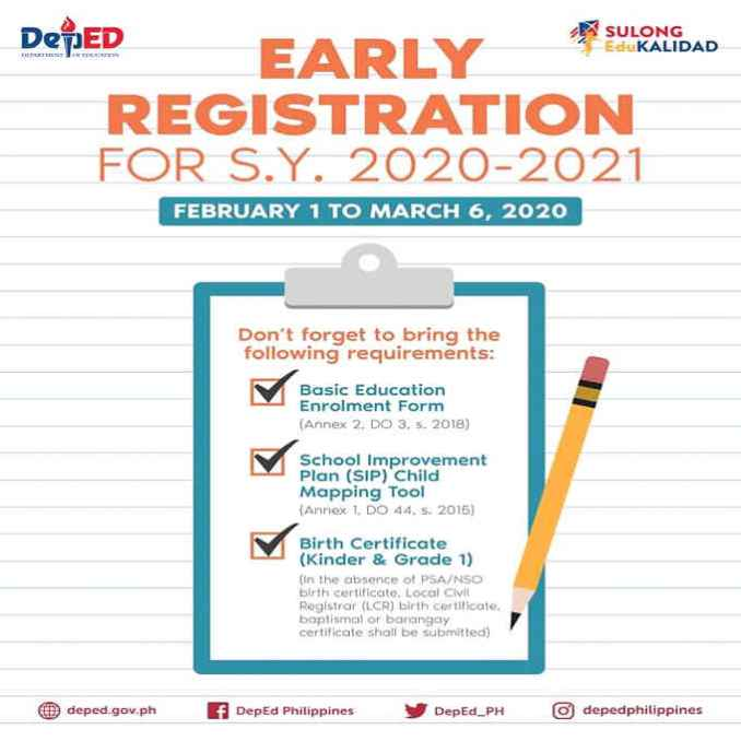 deped-early-registration