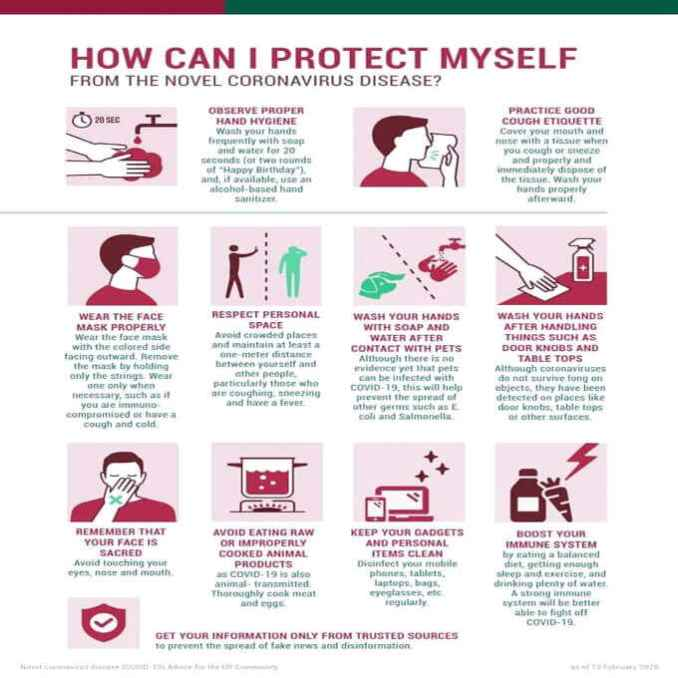 how can i protect myself from a virus