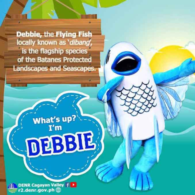 debbie, the flying fish